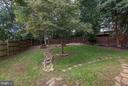 BACK YARD - COMPLETE with PEACH and APPLE TREES! - 415 CLAGETT ST SW, LEESBURG