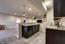 Wet Bar with Granite Counters - 44760 MALDEN PL, ASHBURN