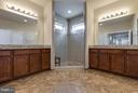 Luxury Master Bathroom w/ Separate Vanities - 44760 MALDEN PL, ASHBURN