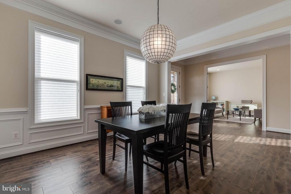 Formal Dining Room with Beautiful Wood Floors - 44760 MALDEN PL, ASHBURN