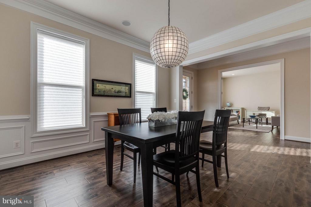 Formal Dining Room with Beautiful Wood Floors - 44760 MALDEN PL, ASHBURN
