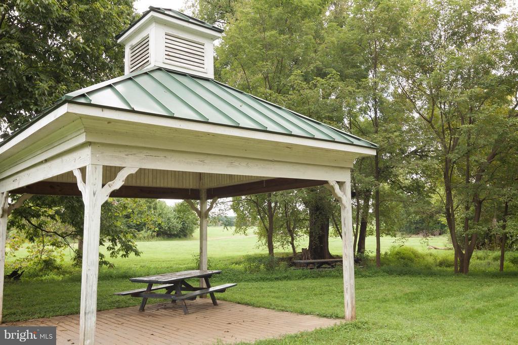 Enjoy historic barn events, picnics/gazebo, stream - 42308 GREEN MEADOW LN, LEESBURG