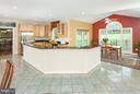 Huge granite, gourmet kitchen & breakfast room - 42308 GREEN MEADOW LN, LEESBURG