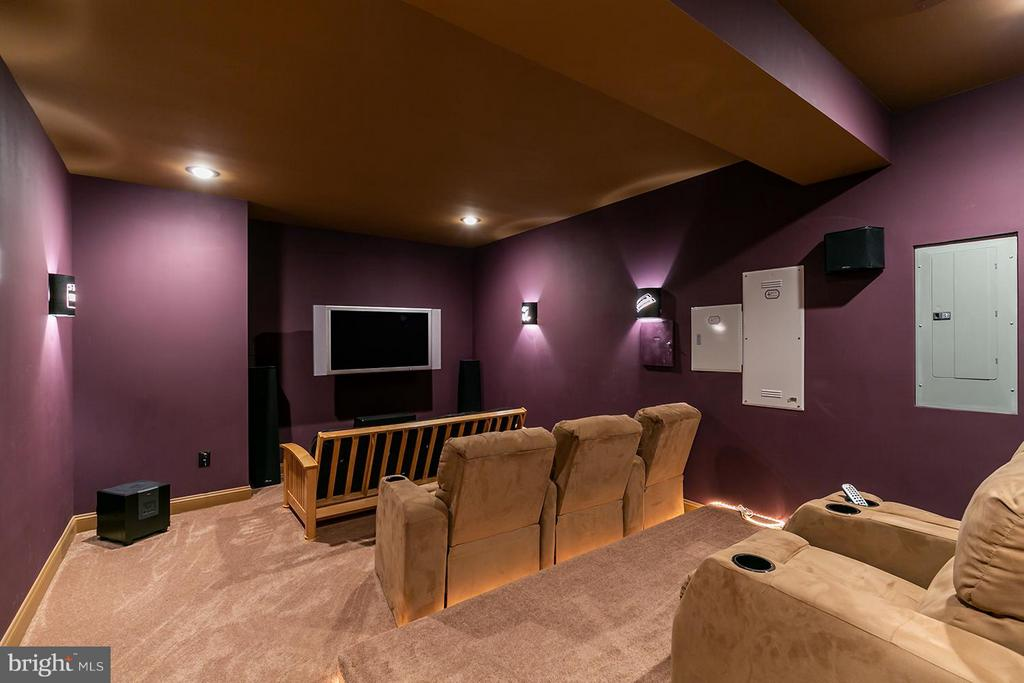 Movie night in your amazing Home Theatre - 43239 PARKERS RIDGE DR, LEESBURG