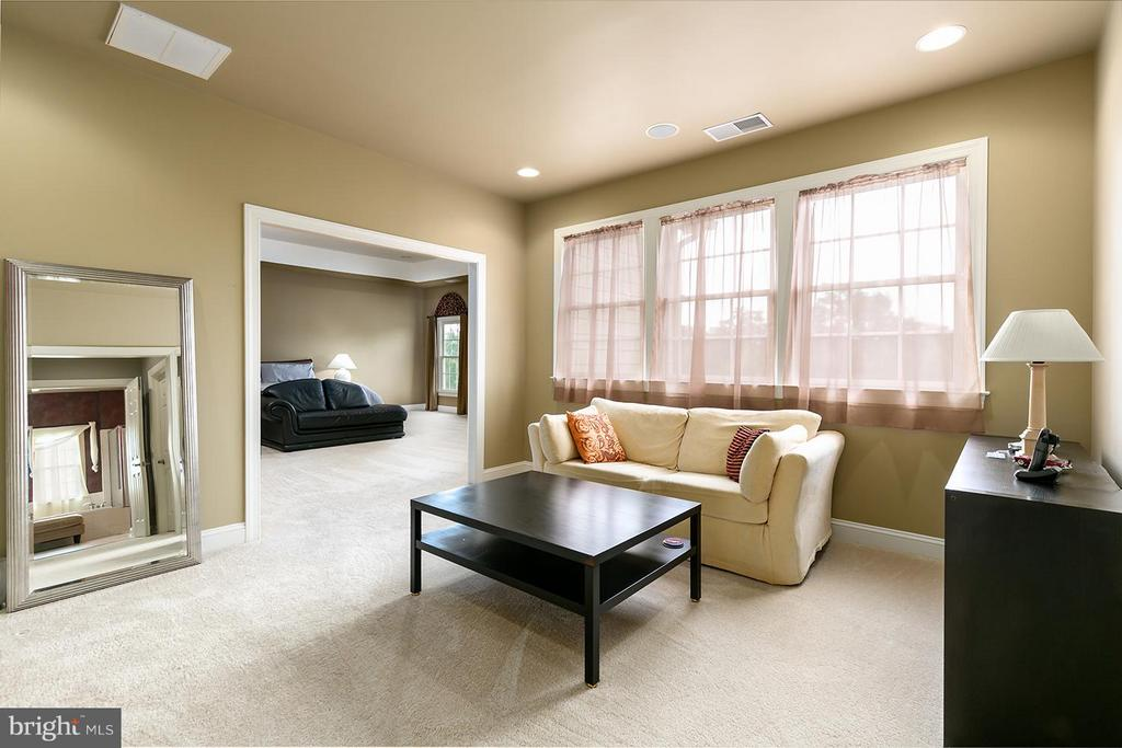 Relax in the Master Bedroom sitting area - 43239 PARKERS RIDGE DR, LEESBURG