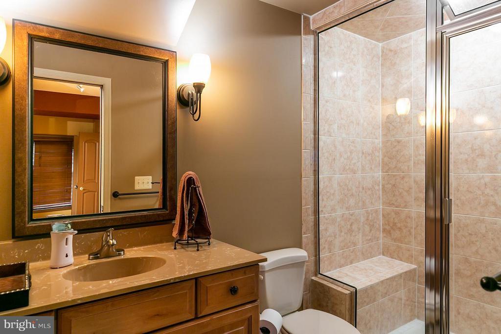 Beautiful full bath on lower level - 43239 PARKERS RIDGE DR, LEESBURG