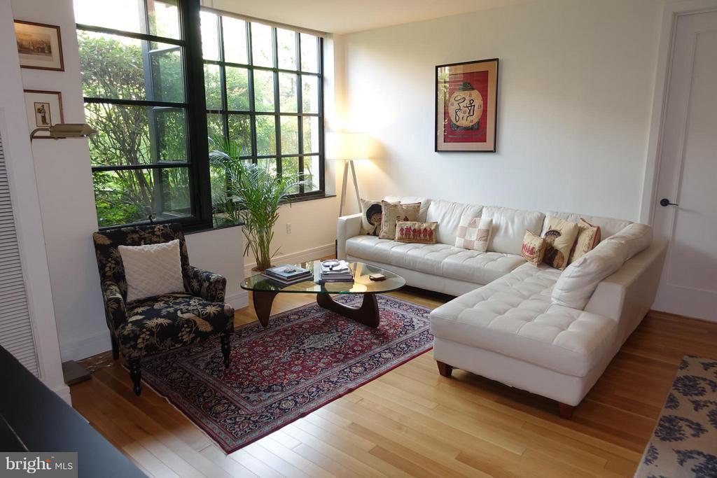 Living Room - 3303 WATER ST NW #3C, WASHINGTON