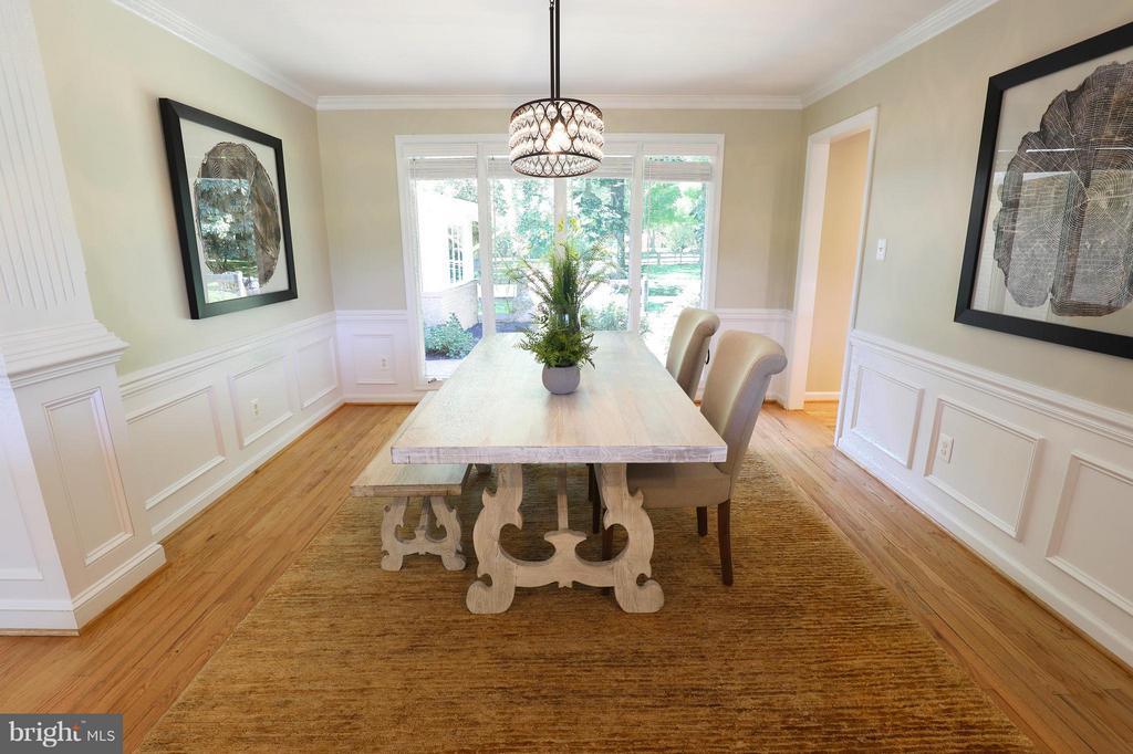 Dining Room - 13108 LAUREL GLEN RD, CLIFTON