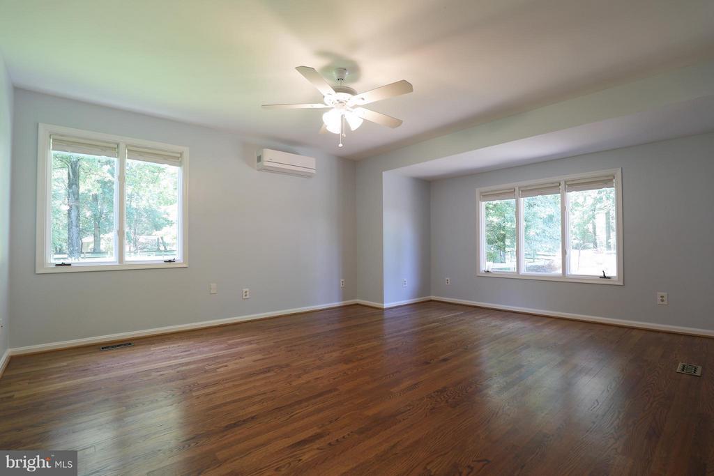Bedroom with beautiful hardwoods! - 13108 LAUREL GLEN RD, CLIFTON