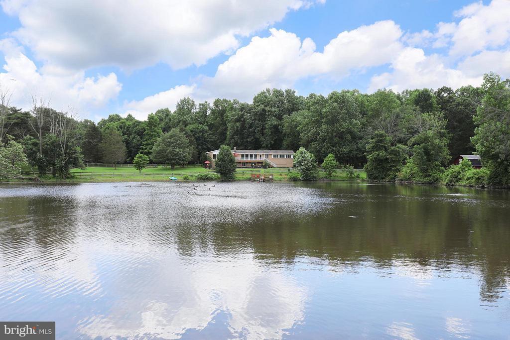 Private Pond - 13108 LAUREL GLEN RD, CLIFTON