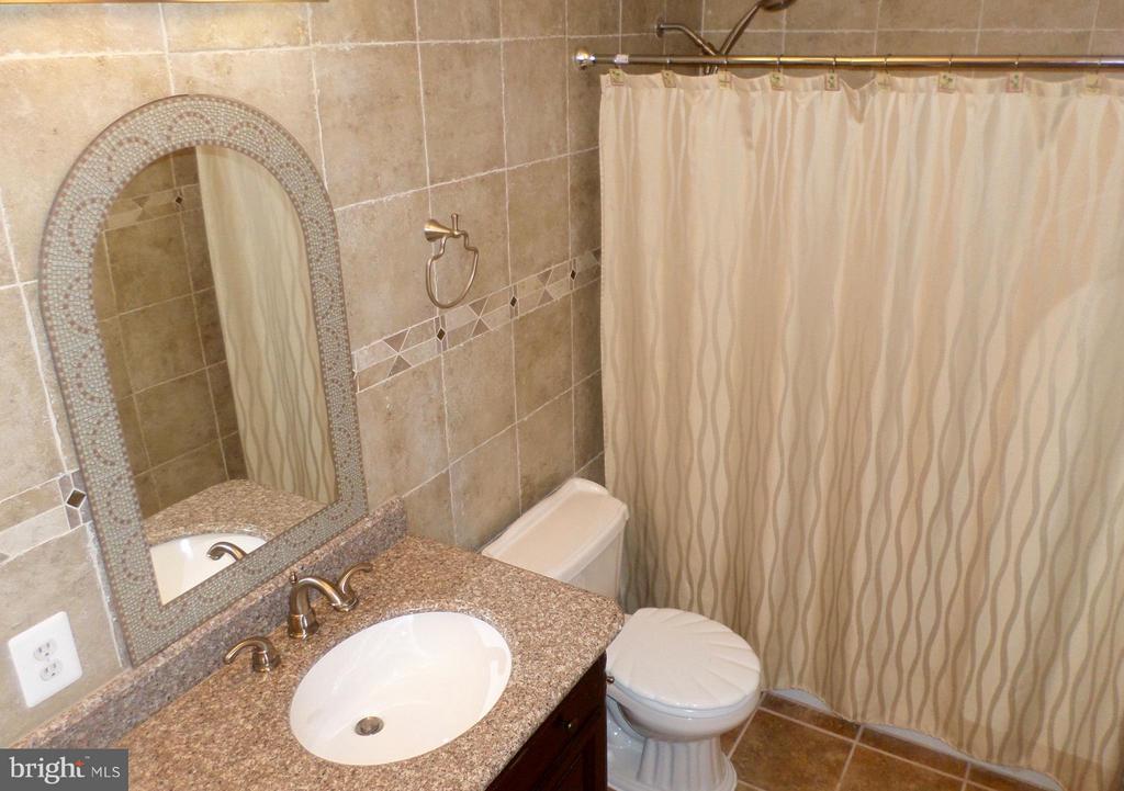 Gorgeous renovated bathroom - 13504 CLASSIC OAKS CT, MANASSAS