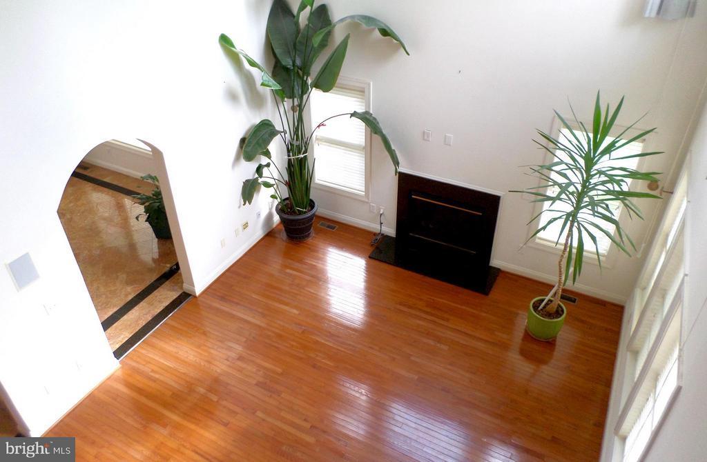 Two-story family room - 13504 CLASSIC OAKS CT, MANASSAS