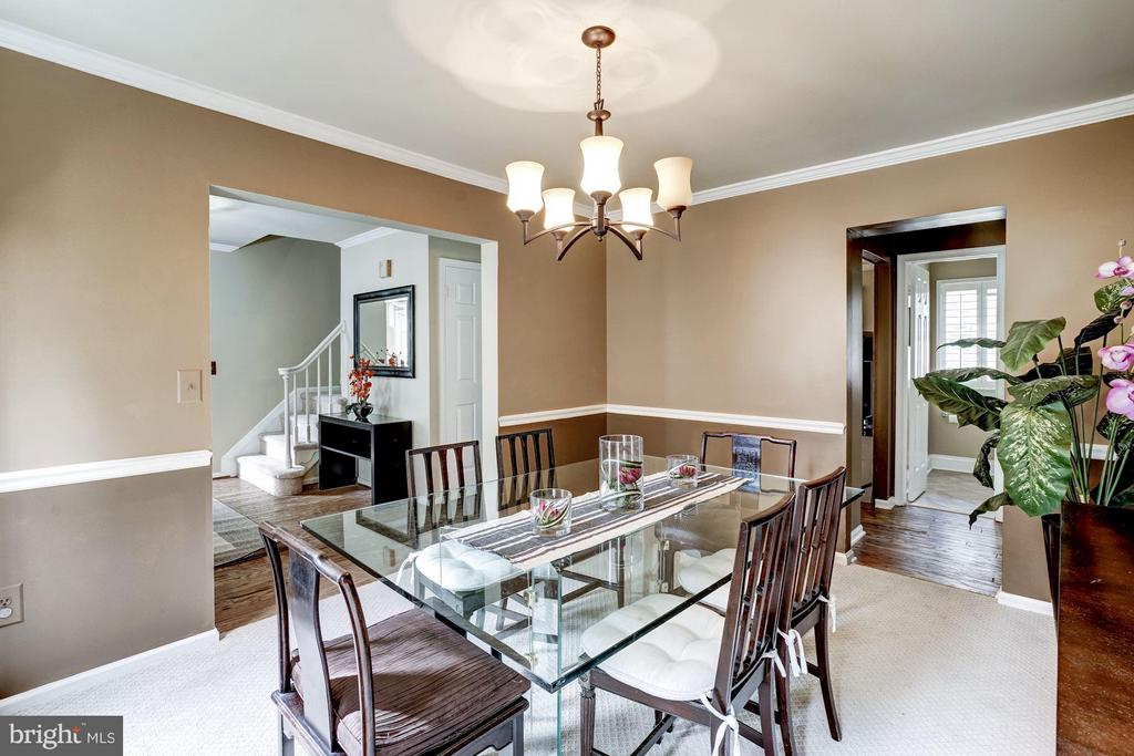 Dining Room - 4422 TULIP TREE CT, CHANTILLY