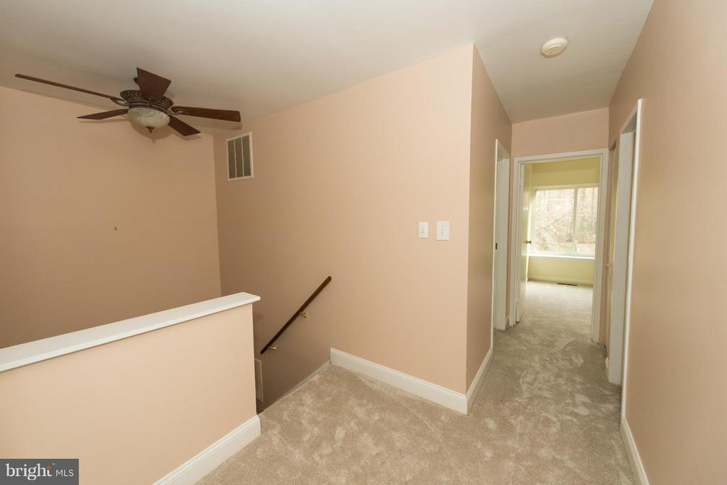 Upper level hall - 2358 SOFT WIND CT, RESTON