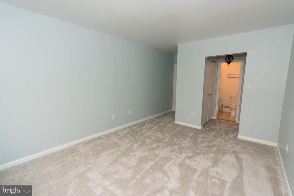 Large master bedroom - 2358 SOFT WIND CT, RESTON
