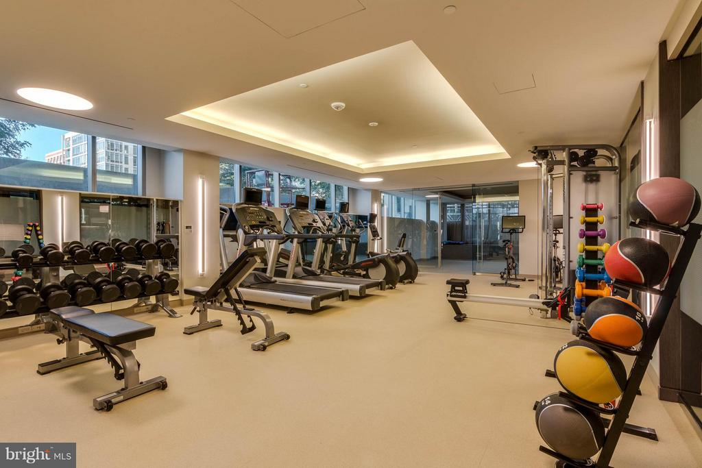 Residents Fitness Room - 2501 M ST NW #210, WASHINGTON