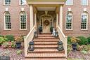 Elegantly appointed brick front porch! - 8615 LEE JACKSON CIR, SPOTSYLVANIA
