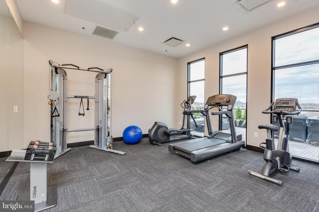 Rooftop gym - 1628 11TH ST NW #109, WASHINGTON