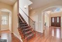 Main Staircase - 43422 CLOISTER PL, LEESBURG