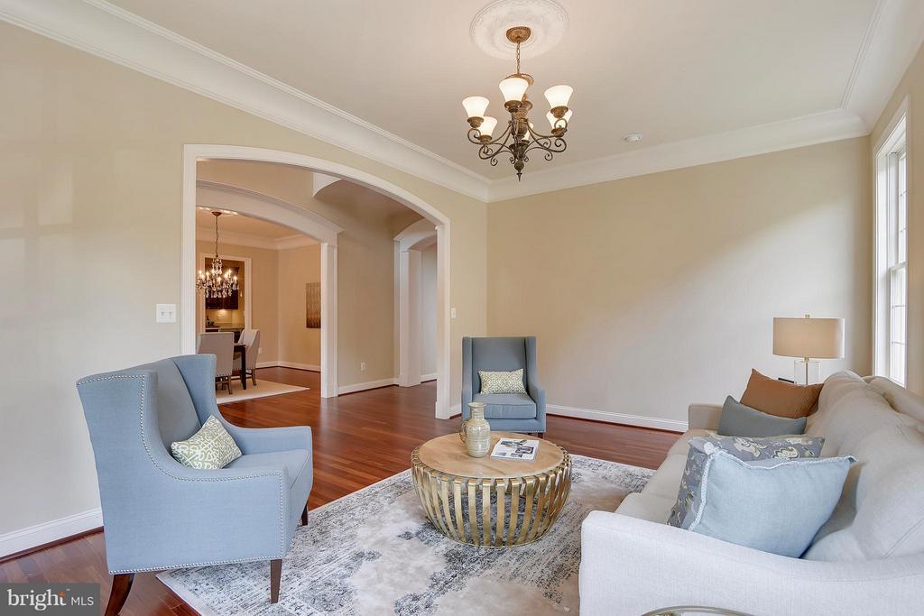 Living Room - 43422 CLOISTER PL, LEESBURG