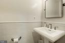 renovated powder room on living level - 2 S MONTANA ST, ARLINGTON