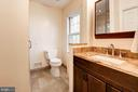 Renovated bath w vanity and oversized shower - 2 S MONTANA ST, ARLINGTON