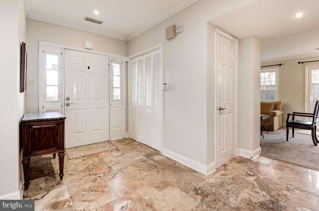 powder room, coat closet and storage off foyer - 2 S MONTANA ST, ARLINGTON