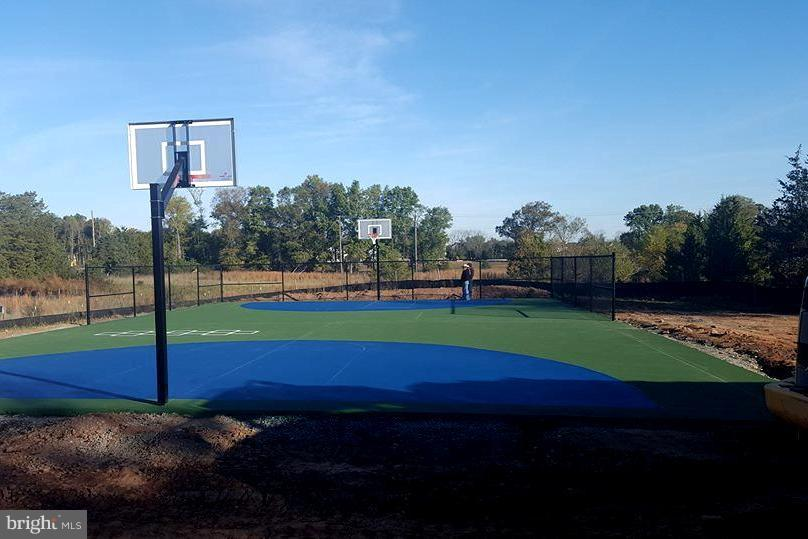 Full basketball court in the back of the community - 41433 AUTUMN SUN DR, ALDIE