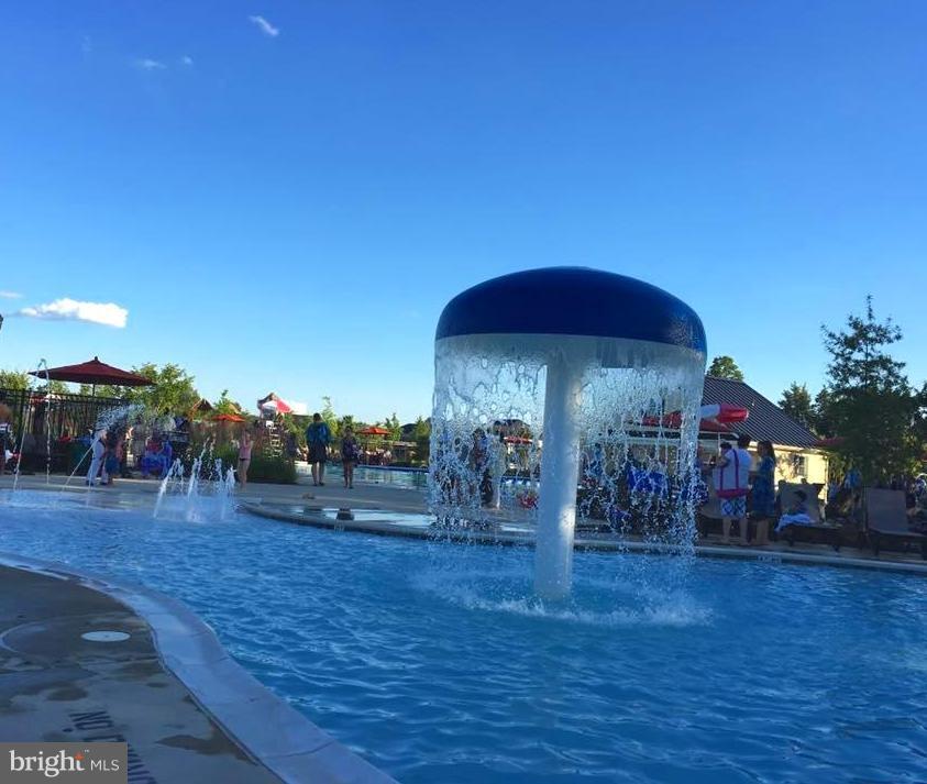 Fun Children's Pool & a separate kiddie pool - 41433 AUTUMN SUN DR, ALDIE
