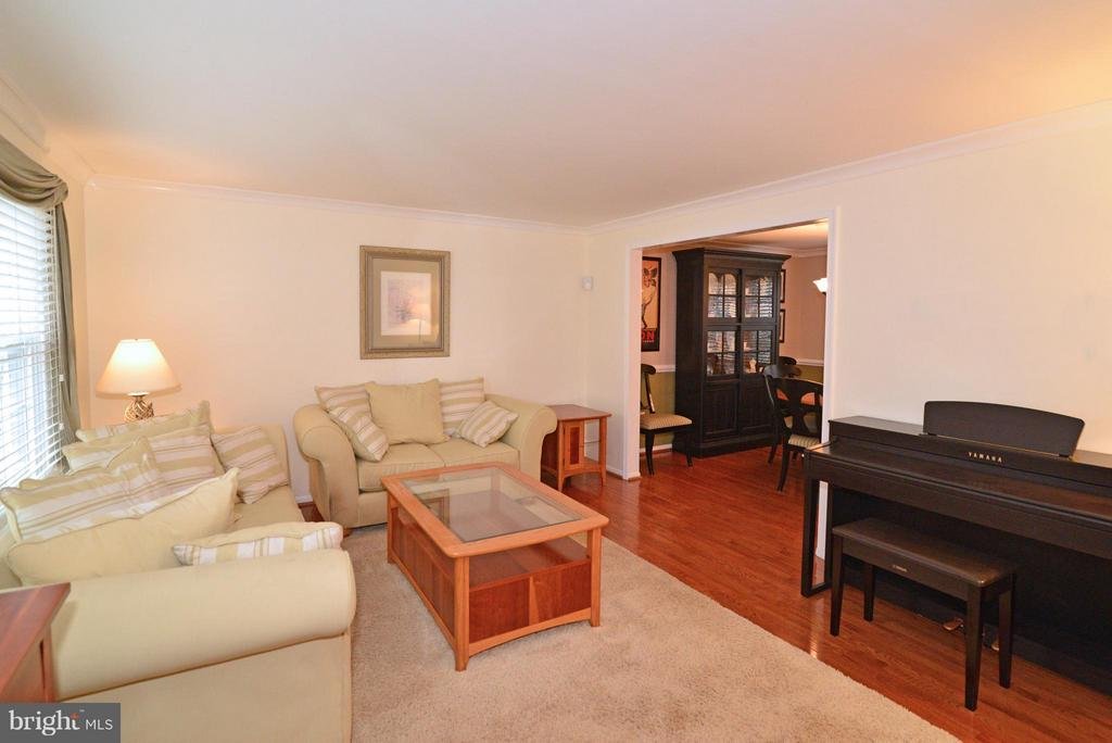 Large Living Room - 12866 GRAYPINE PL, HERNDON