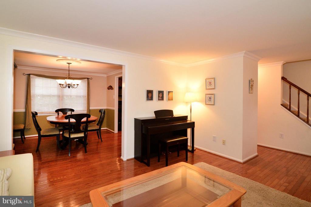 Dining Room open to LR - 12866 GRAYPINE PL, HERNDON