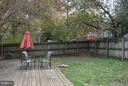 Yard View - 2133 FARRINGTON AVE, ALEXANDRIA