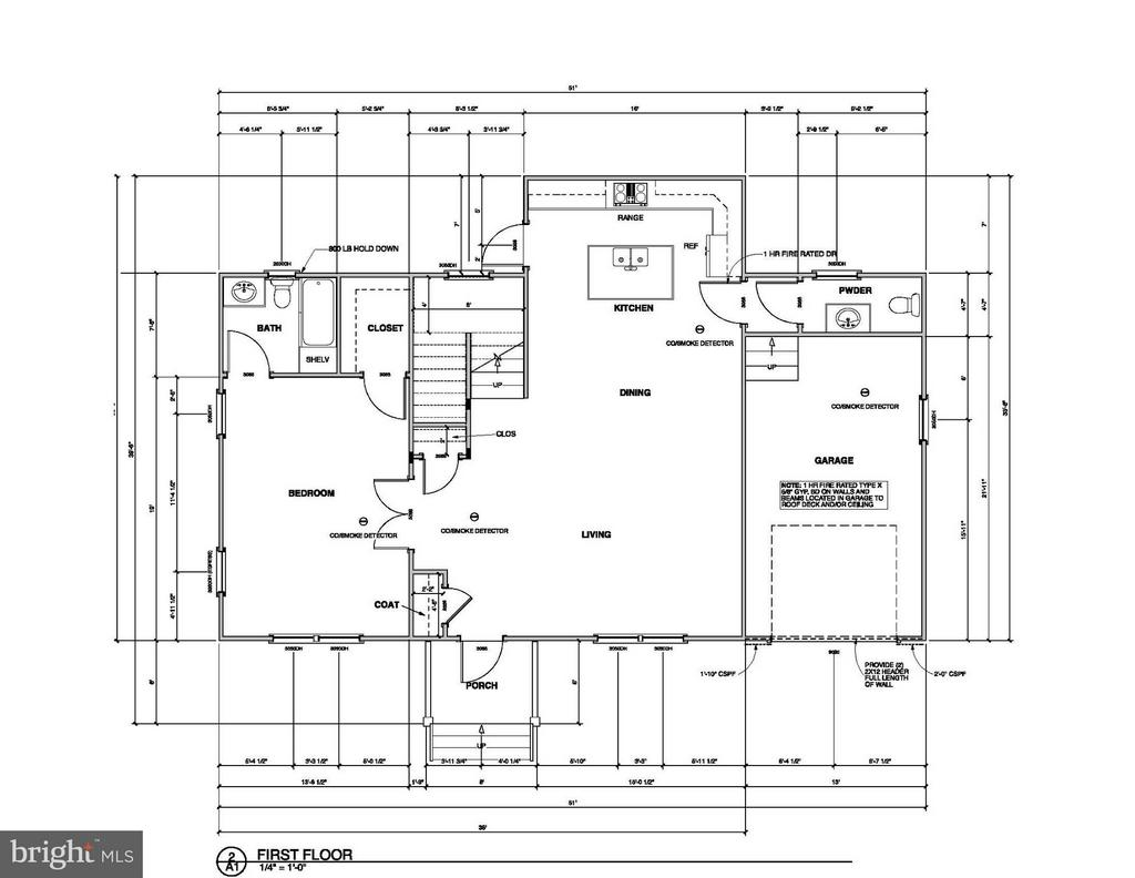 Second Floor Plan - 5502 MOULTRIE RD, SPRINGFIELD