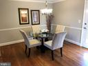 Lovely formal dining area - 10 HARBERT CT, STERLING