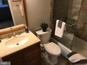 Nicely updated master bath - 10 HARBERT CT, STERLING