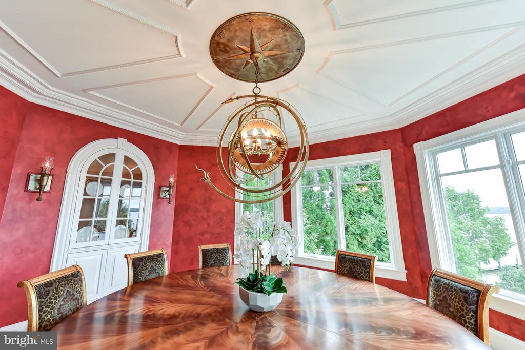 Detailed nautical 9 foot ceiling - 7615 SOUTHDOWN RD, ALEXANDRIA