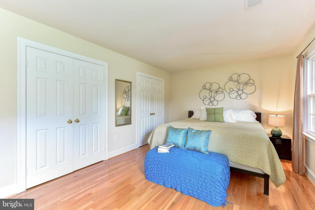 Bedroom Three-  closets galore! - 9350 MOUNT VERNON CIR, ALEXANDRIA
