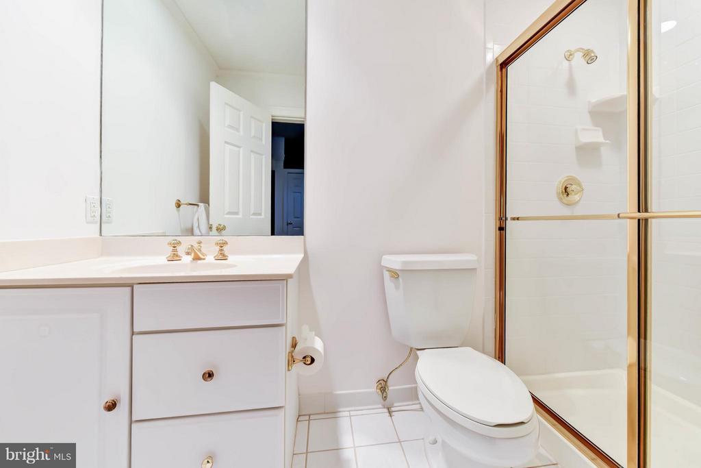 Lower Level Bathroom # 5 - 6040 EDGEWOOD TER, ALEXANDRIA
