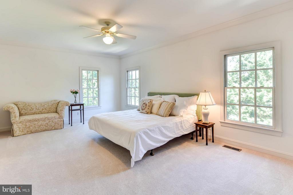 Main Level Master Bedroom - 6040 EDGEWOOD TER, ALEXANDRIA