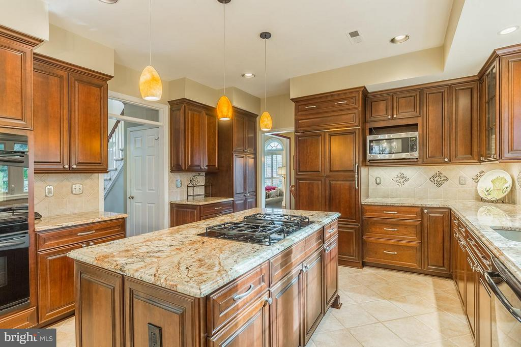 Custom Cabinetry, Recessed Lights, Gourmet Kitchen - 8709 MIDDLEFORD DR, SPRINGFIELD