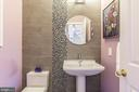 Renovated Guest Powder Room - 8709 MIDDLEFORD DR, SPRINGFIELD