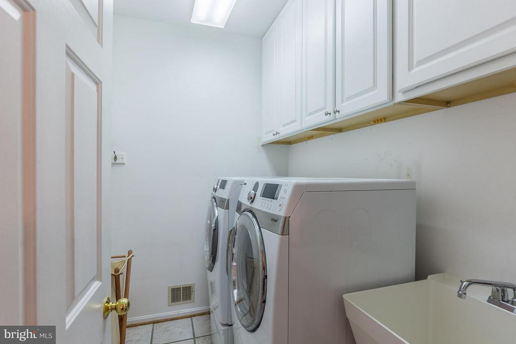 Main Level Laundry Room off Kitchen - 8709 MIDDLEFORD DR, SPRINGFIELD