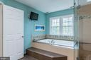 Air Jetted Soaker Tub.  Wall Mount TV Conveys! - 8709 MIDDLEFORD DR, SPRINGFIELD