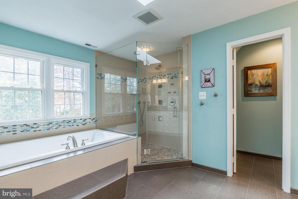 Heated Tile Floors, Two Person Shower! - 8709 MIDDLEFORD DR, SPRINGFIELD