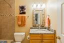 Lower Level Full Bathroom for Guests! - 8709 MIDDLEFORD DR, SPRINGFIELD