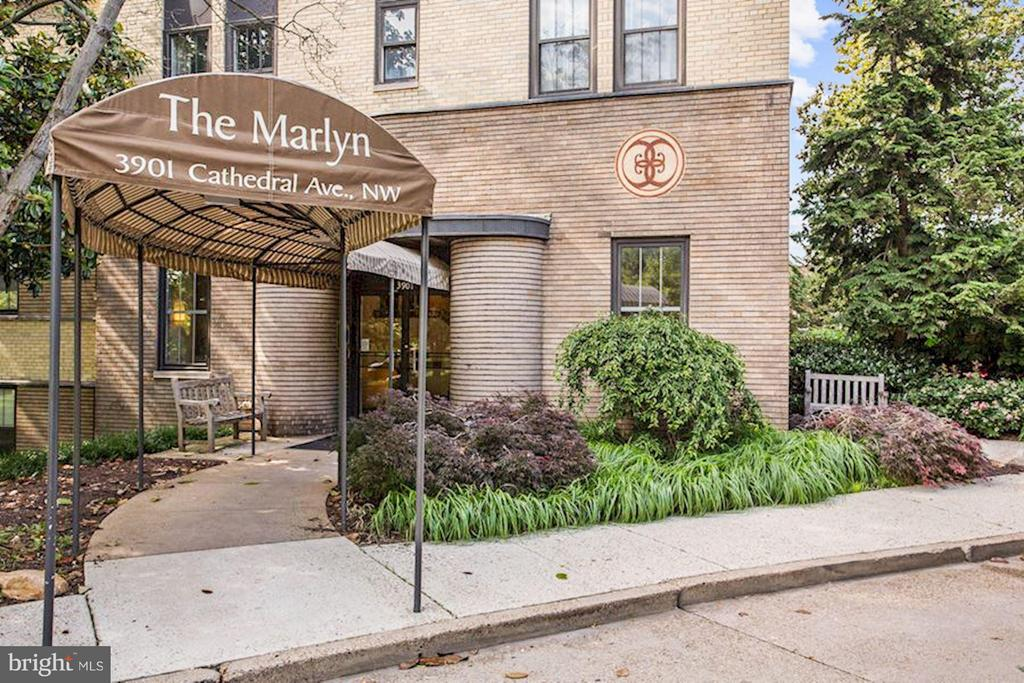 Welcome to the art deco Marlyn (1938) - 3901 CATHEDRAL AVE NW #504 (87), WASHINGTON