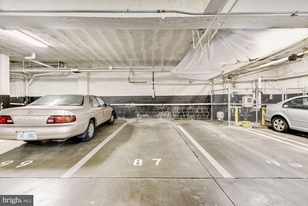 Assigned parking space (#87, original apartment # - 3901 CATHEDRAL AVE NW #504 (87), WASHINGTON