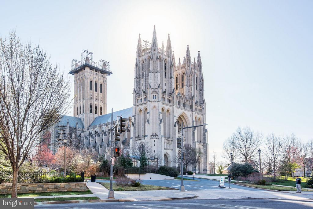 DC's architactural gem: The National Cathedral - 3901 CATHEDRAL AVE NW #504 (87), WASHINGTON