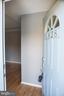 Entrance Door and Hall - 1628 27TH ST SE, WASHINGTON