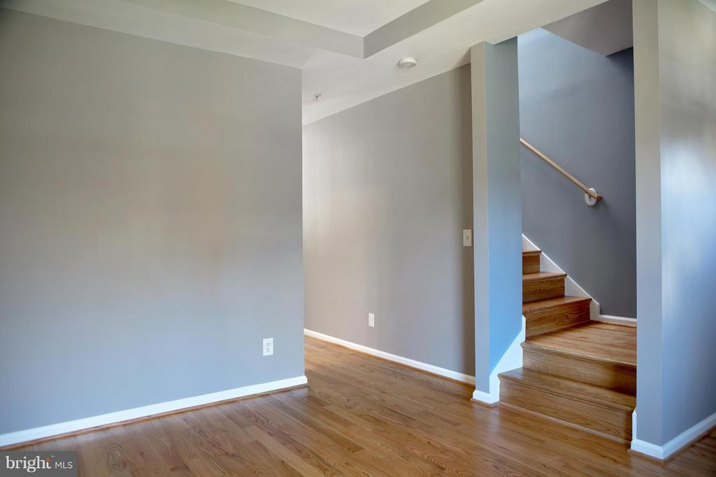 Stairs Up, Hallway to Kitchen/DR - 1628 27TH ST SE, WASHINGTON